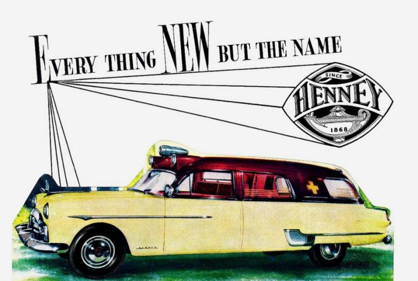 1951 Henney-Packard Ambulance