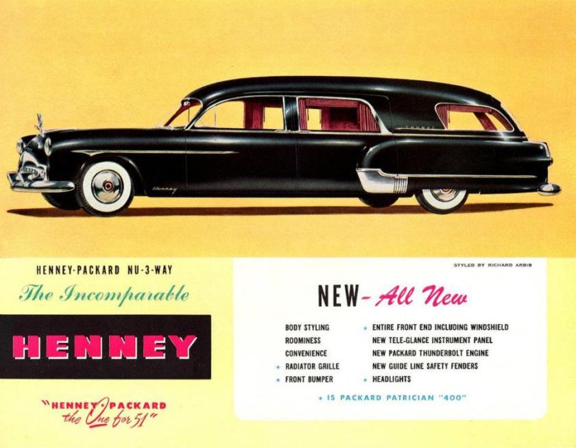 1951 Henney Packard NU-3-way