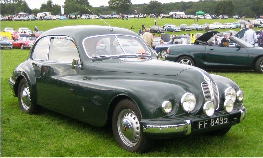 1952 Bristol_403_ca_1952_in_Hertfordshire