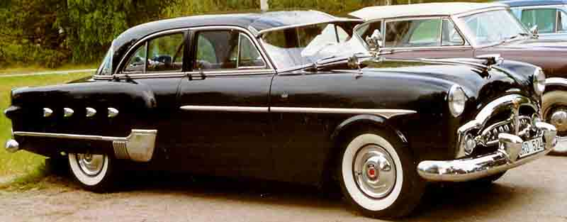 1952 Packard Patrician 400 2552 four-door sedan