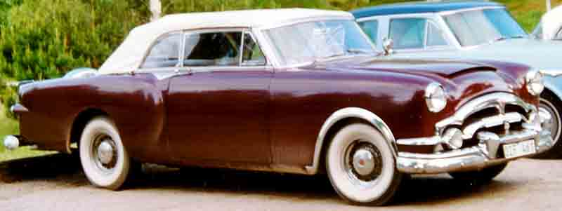 1953 Packard Caribbean Sports Convertible Modell 2631-2678 in Matador Maroon Metallic