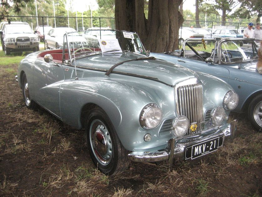 1953 Sunbeam Alpine Mk III