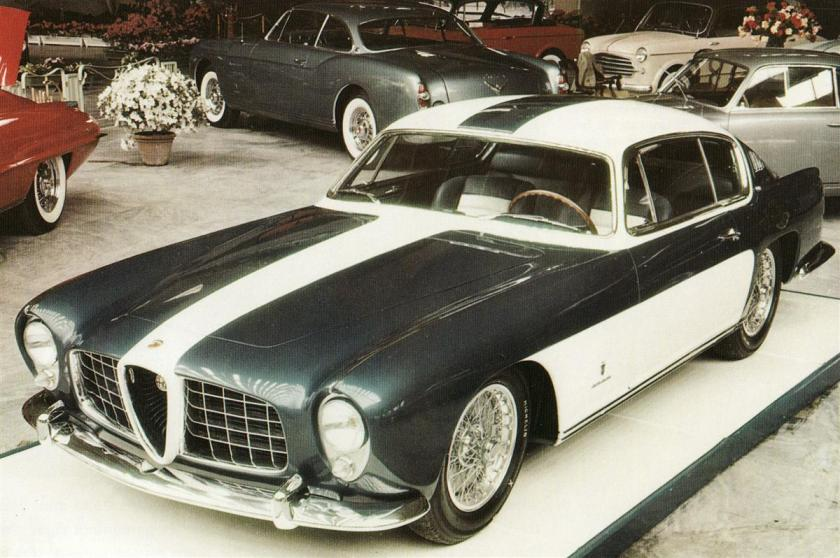 1954 abarth alfa 2000 ghia coupé 1