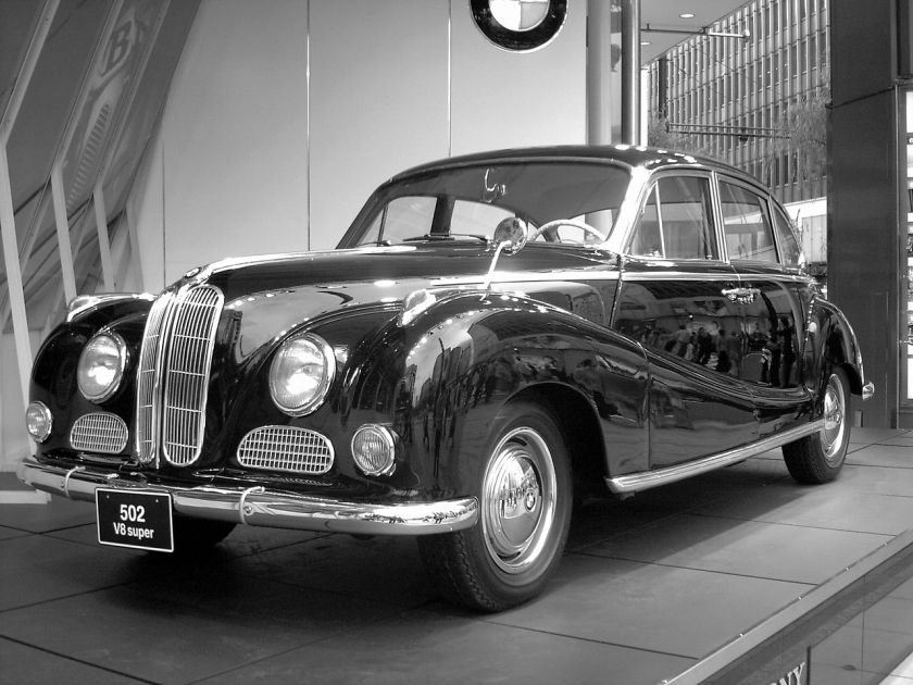 1954 BMW 502 V8 super