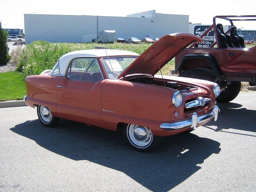 1954 Nash Metropolitan Coupé