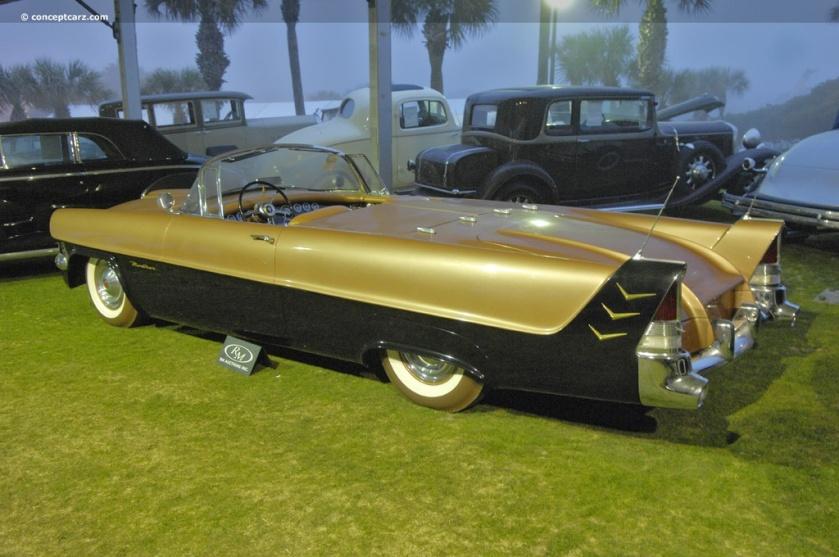 1954 Packard Panther Daytona, goud zwart