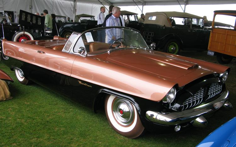1954 Packard Panther Daytona, kleur