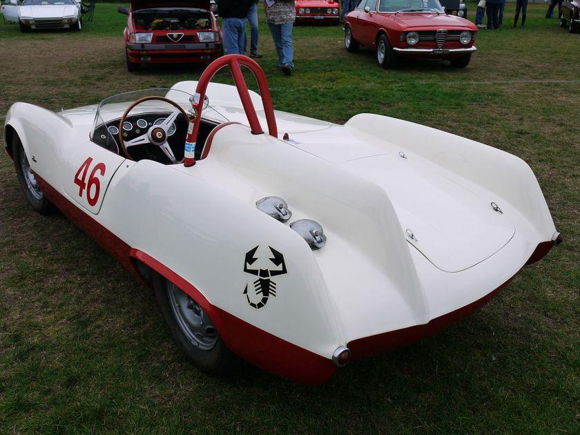 1955 Abarth 207 A Boano Spider Corsa