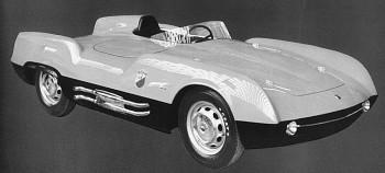 1955 Abarth 207A Boano 1100