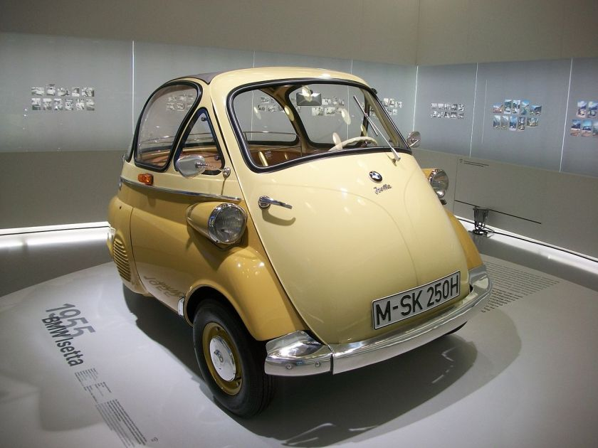 1955 BMW Isetta 250, BMW Museum, Munich, Germany