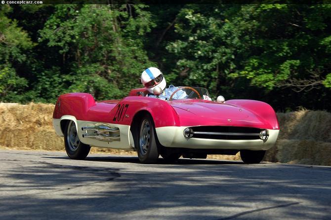 1955 Boano Abarth 207A Spider