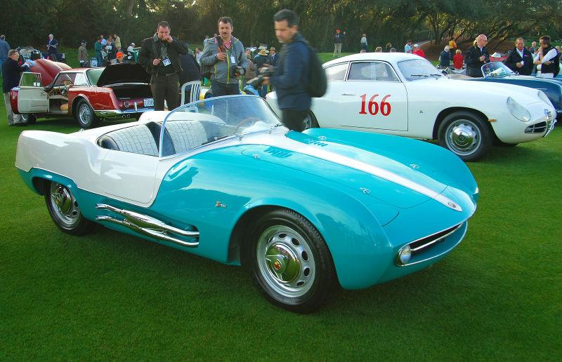 1955 Fiat Abarth Boano Spyder 207A
