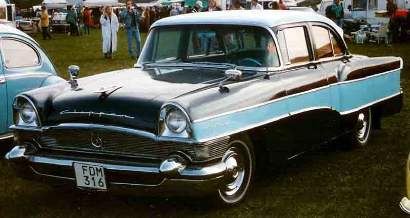 1956 Clipper Custom Touring Sedan, model 5662