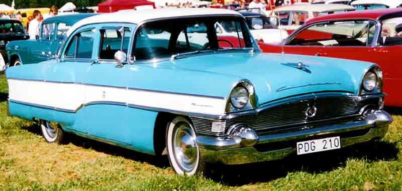 1956 Clipper Super Touring Sedan, model 5642