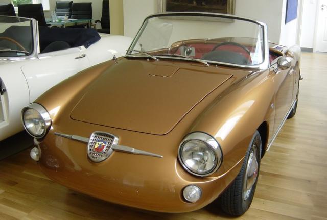 1958 Abarth 750 Allemano Spyder