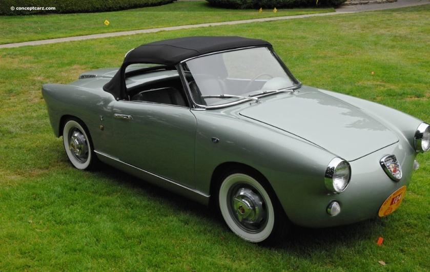 1958 Abarth Allemano Spyder
