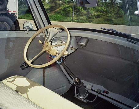 1958 BMW Isetta 300 interior
