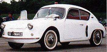 1959 Alpine A 106 Mille Miles coach (R4 cyl, 747 cm3, 40 KM)