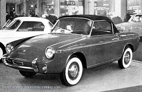1959 Cisitalia 750-45 Spyder Speciale