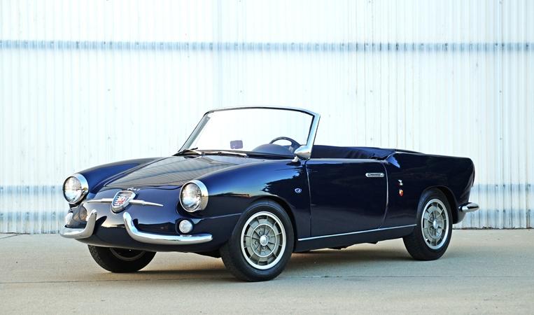 1959 Fiat Abarth 750 Allemano Spider