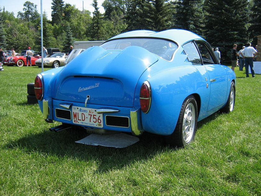 1959 FiatAbarth750GTZagato-rear
