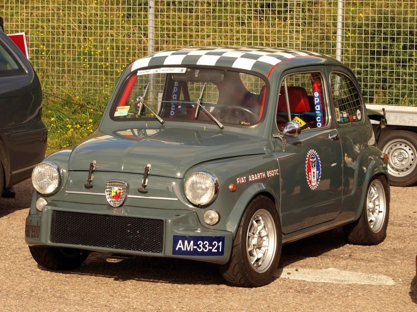 1960-68 Fiat Abarth 850 TC Grey