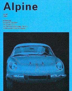 1960 alpine a108