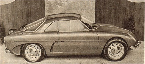 1960 Alpine at the Paris Motor Show