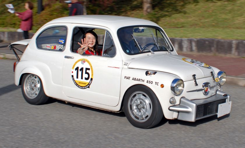 1960 Fiat Abarth 850TC Berlina