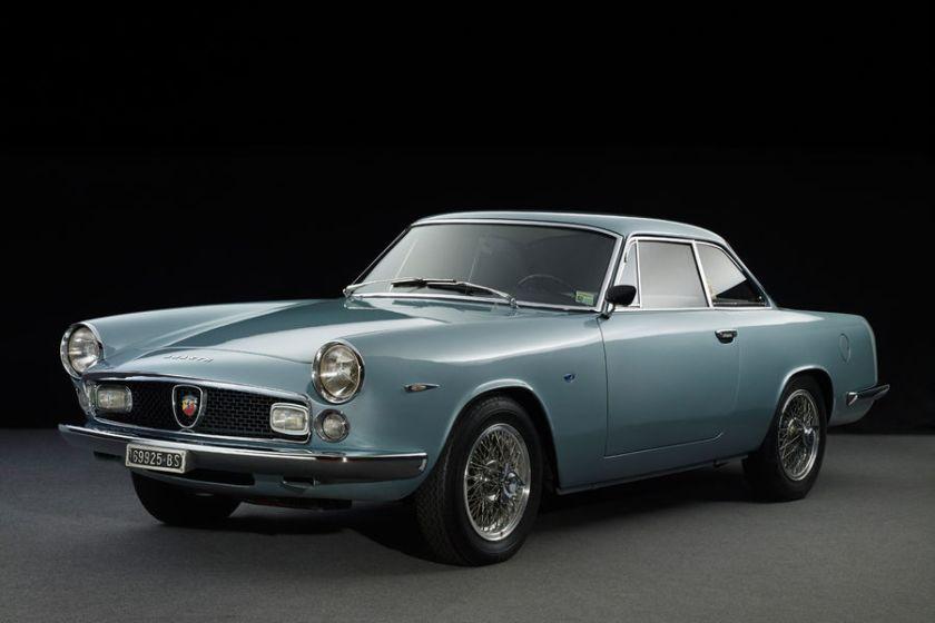 1961 Fiat-Abarth-2400-Allemano-Frontansicht