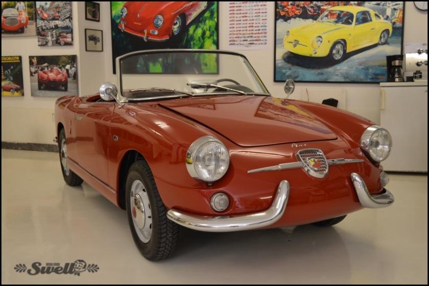 1961 Fiat Abarth 750 Allemano Spider