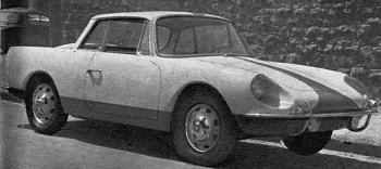 1962 alpine coupe 2+2