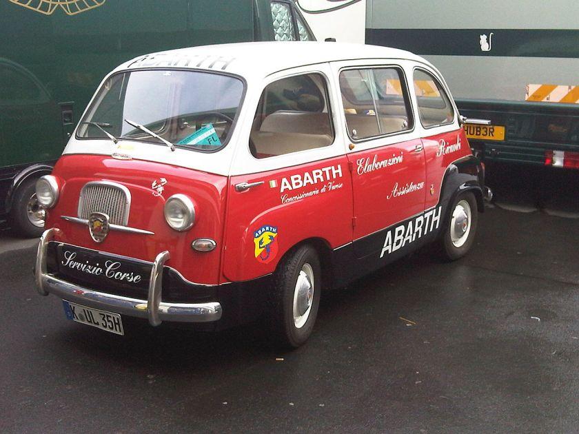 1962 Fiat 600 Multipla Abarth