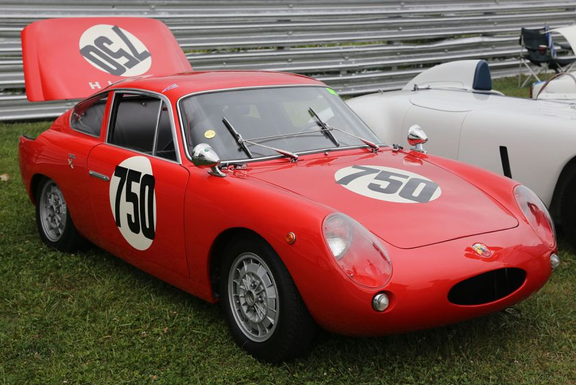1963 Abarth Monomille, no 750, Lime Rock