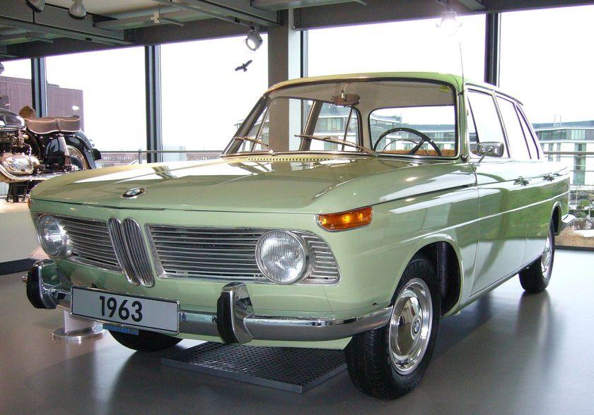 1963 BMW 1500 FrontSeit