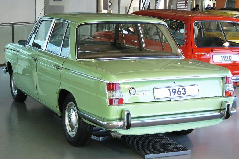 1963 BMW 1500 sedan
