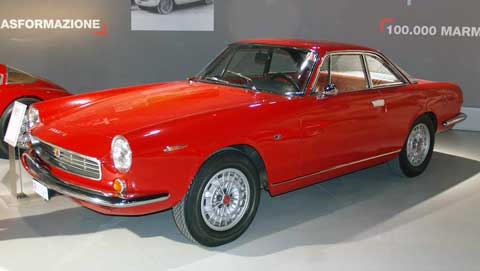 1963 Fiat Abarth 2400 designed by Allemano with Michelotti