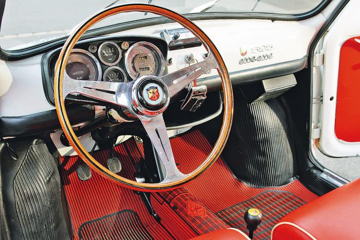 1963 Fiat-Abarth-595-SSc