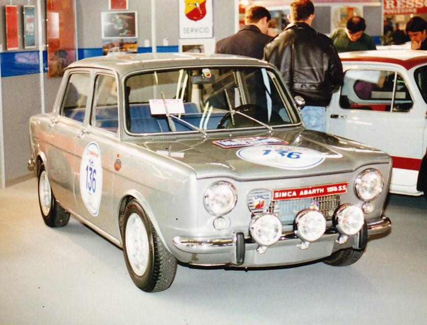 1964-66 Simca 1150 Abarth