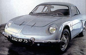 1964 Alpine A 110 - 1100 (retroviseur)