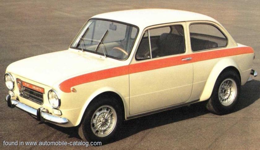 1964 Fiat Abarth OT 1600