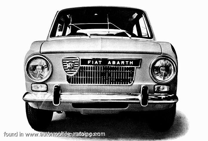 1964 Fiat Abarth OT 1600a