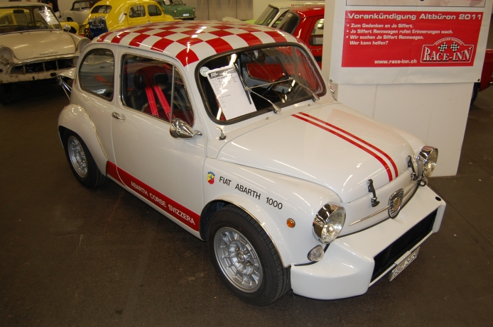 1965-67 Fiat Abarth 1000 TC berlina corsa