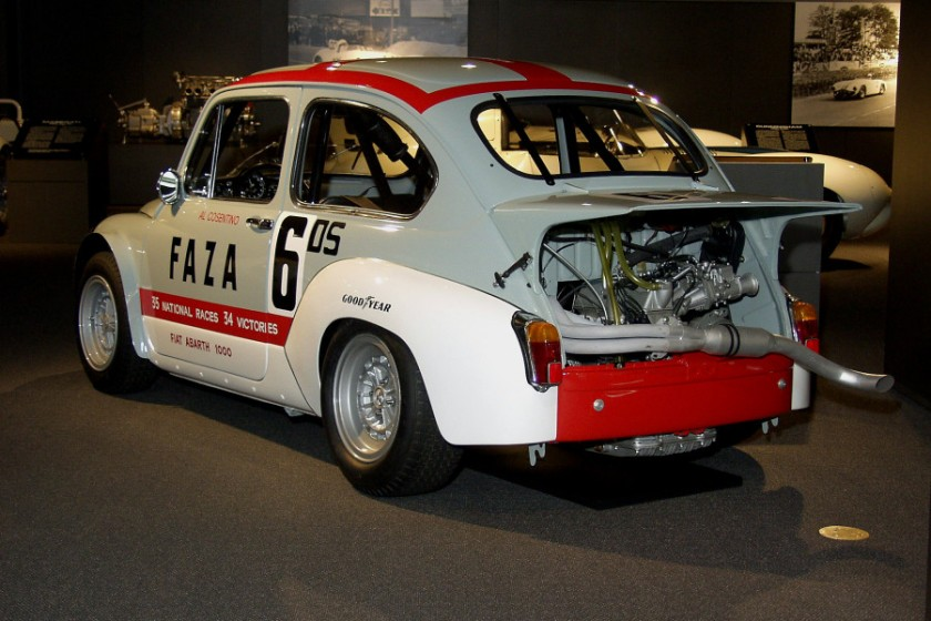 1965-67 Fiat Abarth 1000 TCR