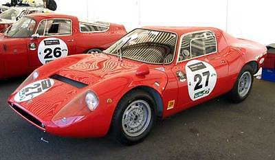 1965 Abarth OT 1300 Coupe, in Red.