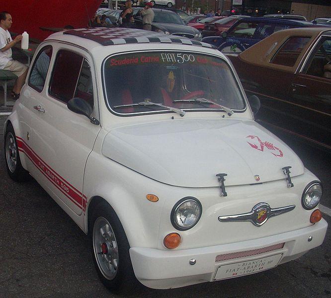 1968 Fiat Abarth 500