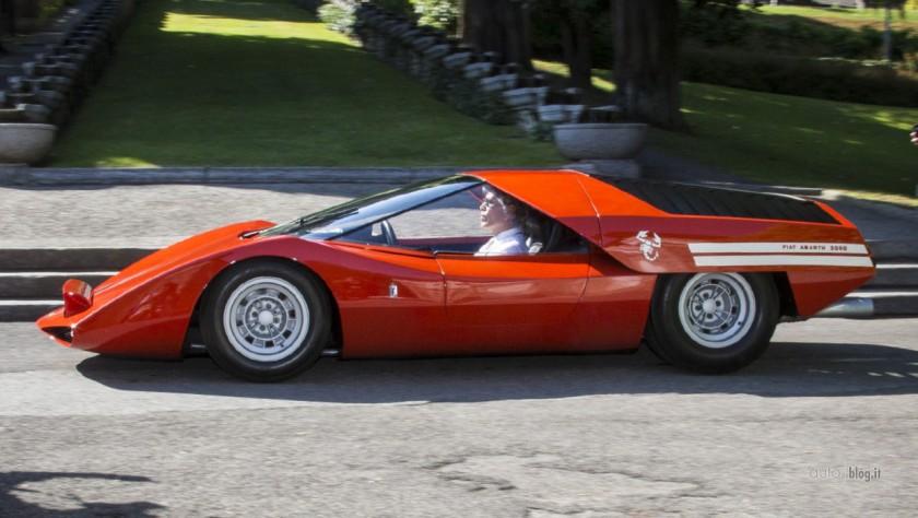 1969 Abarth 2000 Pininfarina Scorpione b