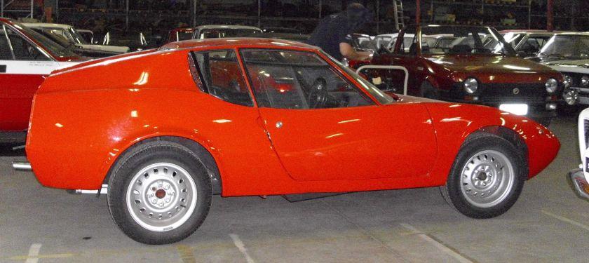 1969 Abarth Scorpione seitlich