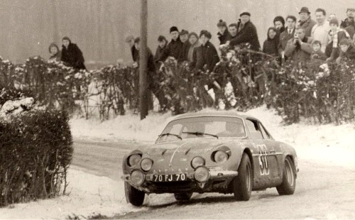 1969 Alpine 1600 rally