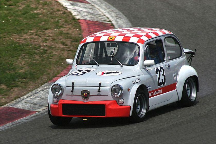 1970 Fiat Abarth 1000 TC, 982 cm³